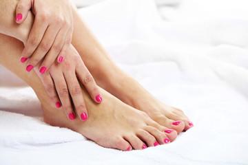 manucure ou beauté des pieds